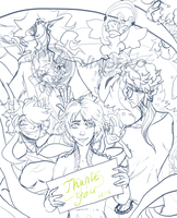 A Thank you 2015 WIP by Ningeko16