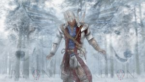 Connor with blades by shatinn