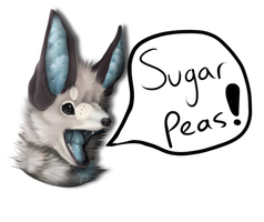 SUGAR PEAS by Billy-Bitchcakes