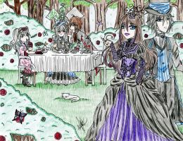 Victorian Contest Entry by AyameKumori