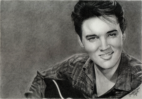 Elvis by Art-By-Candi