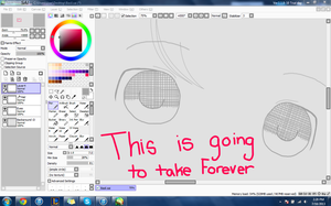 I'm working on something.. by Melodyx902