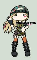 Avril Lavigne Rock N Roll by NickyToons