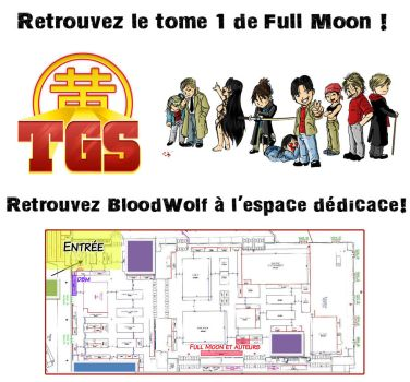 Tome 1 full moon au TGS toulouse by stef84