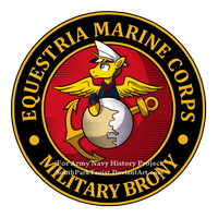 Equestria Marine Corps Seal by SouthParkTaoist