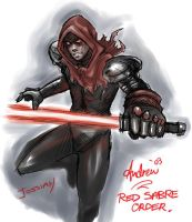 Dark Jedi by stryda