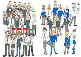 Hetalia Collab by elca98