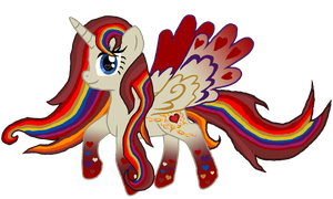 Birthday Gift for Akira-the-Alicorn - Rainbowfied by Crisostomo-Ibarra