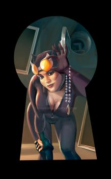 CatWoman by BroHawk