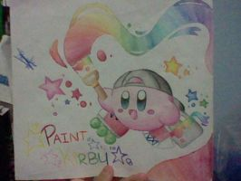 Paint Kirby by SuperMarioFan888