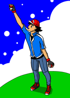 XY Ash outfit by charlot-sweetie