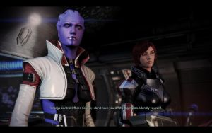 ME3 ODLC - Ellis Shepard and Aria 2 by chicksaw2002