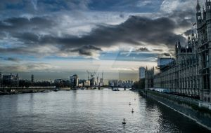 Thames-scape by RyanTrower