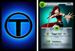 TTOC Trading Card - Charade by TheMaskedMystery