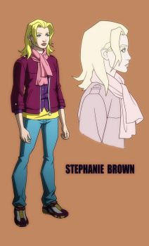 YOUNG JUSTICE: INVASION: STEPHANIE BROWN by Jerome-K-Moore