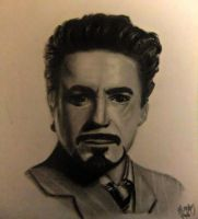 Tony Stark a.k.a. Iron Man by zhymae14
