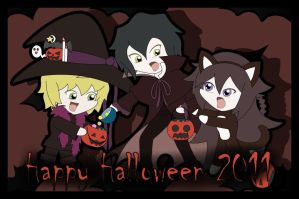 Happy Halloween 2011 by Bayleef-