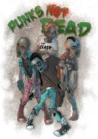 Punks Not Dead by dinos99
