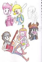 Adventure Time random-Doodles by MCBisthename