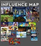 KombatMaster94's Animation Creation Influence Map by KombatMaster94