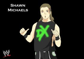 WWE Shawn Michaels by TheFresco