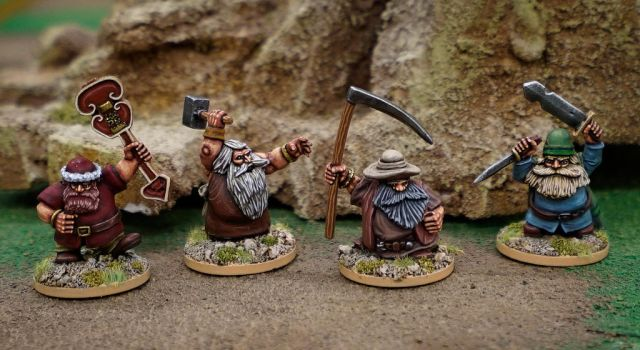 Fantasy Dwarves by WarmongerMiniatures