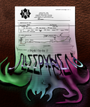 Madmen Asylum Registration Form - Tuesday by Graphite451