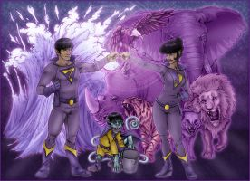 Wonder Twins Final - 2008 by Killerbee-Kreations