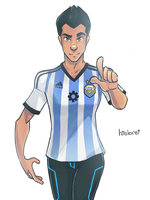 GenRex  Are you Ready for Brazil 2014 by hielorei