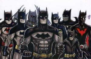 Batmen by olybear