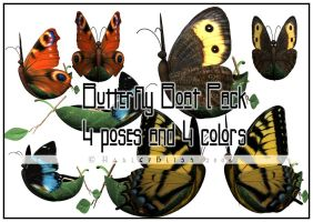 Butterfly Boat Pack by HarleyBliss