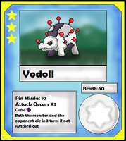 Vodoll Card (Adopt) by Dianamond