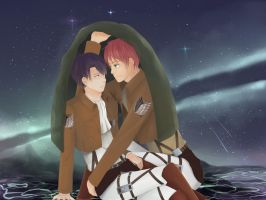 Ereri : Covering You by pandagulung