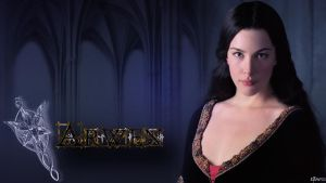 Arwen Wallpaper by Elflover21