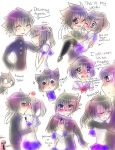 Ayano and Budo Cute Doodles by Sonikkufreak