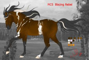 MCS Blazing Rebel by Emiliastar