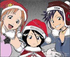 A Bleach Christmas by tzuna