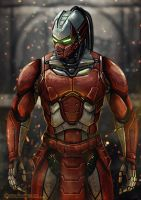 Sektor - Mortal Kombat by TwentySevenAB