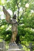 Angel in Vysehrad 5 by Heurchon