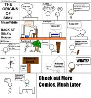 STICK comic ORIGiN by nicksnack