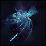 Blue Dragonfly by IllyExP