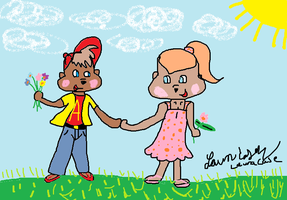 Alvin And Britt's spring Day by GothicTaco198