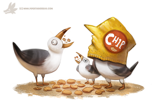 Daily Paint #1019. Miiiiiine by Cryptid-Creations