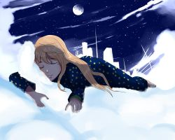 Sleeping at Cloud by ekographartsign