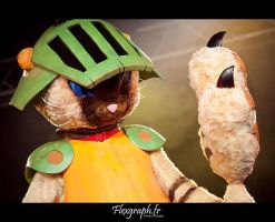 Airou cat Monster hunter 5 by Shoko-Cosplay