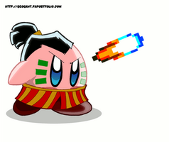 Kirby's six-hand slap by geogant