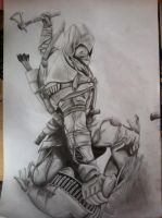 Assassins Creed 3 - Connor by xarbak