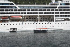Cruise ship Flaam, Norway 3 by enframed