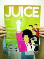 Cover Design For JUICE mag by idnjay