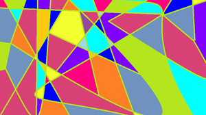 colorful triangles by Saphira001